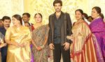 Seetha and Radhika at Sibiraj and Revathi Wedding Reception