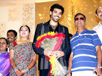 S. A. Chandrasekhar at Sibiraj and Revathi Wedding Reception