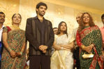 Vijay wife sangeetha with madhavan wife at Sibiraj and Revathi Wedding Reception