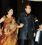 Actor Vijayakumar and Manjula at Sridevi Wedding Reception