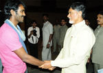 Chandrababu Naidu  at Sridevi Wedding Reception