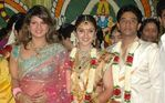 Rambha at Sridevi and Rahul Wedding