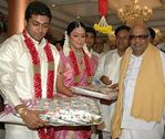 Kalignar at Surya and Jyothika Marriage