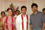 Vijay at Surya and Jyothika Marriage