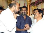 Sathyaraj at Surya and Jyothika Marriage