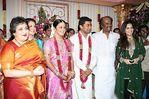 Rajini family at Surya and Jyothika Marriage