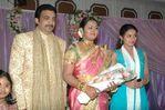 Actress Vindhya and Bhanupriya's brother Gopi marriage reception