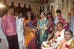 Actress Roja and Selvamani at Bharathiraja's daughter Janani Ishwarya and Rajkumar Marriage
