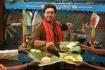 Bharath and Priyamani with Ramya Krishnan in Aarumugam Movie