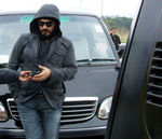 Ajith Kumar and Nayanthara in Aegan Shooting