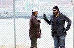 Ajith Kumar and Raju sundaram in Aegan Shooting