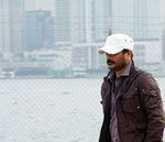 Raju sundaram in Aegan Shooting