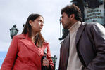 Jayam Ravi and Lakshmi Rai in Dhaam Dhoom Movie