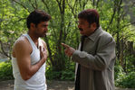 Jayam Ravi and Jayaram in Dhaam Dhoom Movie