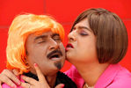 Vivek and M S Bhaskar in Guru En Aalu Movie