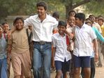 "Vijay, Surya, Madhavan and Jyothika in ""Herovaa Zerovaa"" (education awareness film)"
