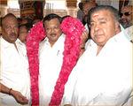 M K Azhagiri launched Namitha's Jaganmohini in Madurai