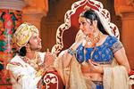 Namitha and Raja in JaganMohini Movie