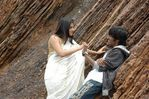 Danush with Ramya in Polladhavan