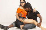 Lawrence and Samiksha in Rajathiraja Movie