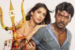 Lawrence and Samiksha in Rajathiraja Movie