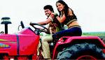 Vijay with Anushka in Veataikaran Tamil movie
