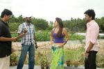 Villu Movie Shooting photo - Actor Vijay and Actress Nayanthara with director Prabhu Deva