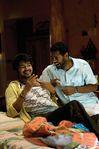 Villu Movie Shooting photo - Actor Vijay and Actress Nayanthara with director Prabhu Deva