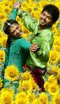 Nayanthara with Vijay at Villu Shooting Spot