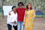 Rajini with Vadivel and Actress Sona in Kuselan