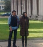 Asin and Salman khan at the London Dreams Shooting
