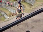 Aishwarya Rai at Endhiran Shooting Spot