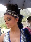 Aishwarya Rai at Endhiran Shooting Spot