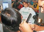 Superstar Rajinikanth at Endhiran Shooting Spot