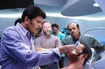 Shankar at endhiran the robot on Shooting