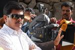Shankar at endhiran the robot on Shooting photo 2