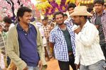 Vijay at Kavalkaran On Location( shooting spot )