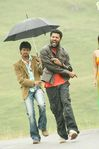 Vijay and Prabhu deva at Villu on the sets