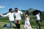 Vijay and Prabhu deva with Nayanthara  at Villu Shooting spot