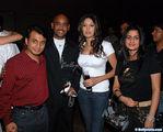 Vinod Kambli and his wife Andrea at Grace Sports Bar Opening at Andheri in Mumbai ( pic bollyvista )