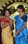 Tennis stars Sereena & Venus Williams in Saree