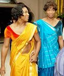 Tennis stars Sereena & Venus Williams in Saree