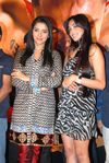 Asin and Jiah Khan at the success party of the movie 'Ghajini'