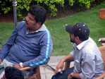 Shankar at Endhiran Movie Shooting Spot