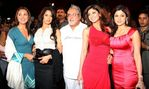 Lara Dutta, Sameera Reddy, Vijay Mallya, Shilpa Shetty and Samita Shetty at Force India Formula One Launch