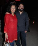 Gowthami and Kamal Hassan at the launch of Rollingstone magazine