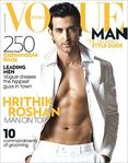 Hrithik Roshan Vogue coverboy