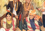 Mahendra Singh Dhoni marriage photos with Sakshi Rawat (1)