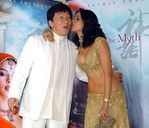 Mallika Sherawat with Chan