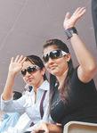 Nayanthara with Trisha Krishnan